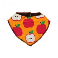 Maxomorra Classic Apple Dribble Bib