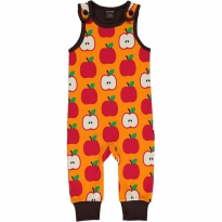 Maxomorra Classic Apple Dungarees
