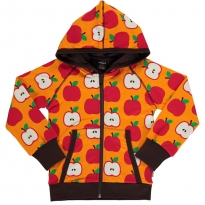 Maxomorra Classic Apple Hooded Cardigan