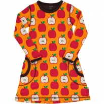 Maxomorra Classic Apple LS Dress