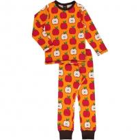 Maxomorra Classic Apple LS Pyjamas