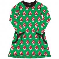 Maxomorra Classic Mushroom LS Dress