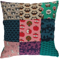 Maxomorra Upcycled Pillow Case
