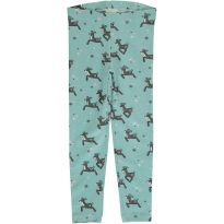 Maxomorra Dashing Reindeer Leggings