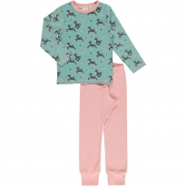 Maxomorra Dashing Reindeer LS Pyjamas