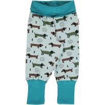 Maxomorra Dotted Puppy Rib Pants