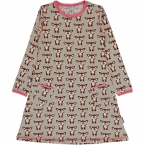 Maxomorra Fawn LS Dress