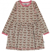 Maxomorra Fawn LS Spin Dress
