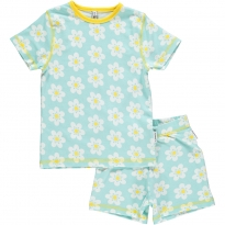 Maxomorra Flower SS Pyjamas