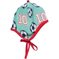 Maxomorra Football Baby Bonnet Hat