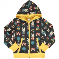 Maxomorra Fun Park Hooded Cardigan
