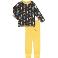 Maxomorra Fun Park LS Pyjamas