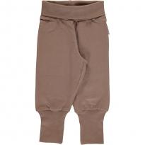 Maxomorra Hazel Brown Rib Pants