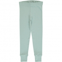 Maxomorra Icy Blue Cuff Leggings