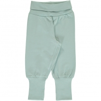 Maxomorra Icy Blue Rib Pants