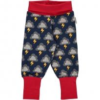 Maxomorra Lightning Rib Pants