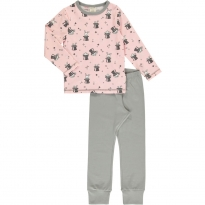 Maxomorra Magic Rabbit LS Pyjamas