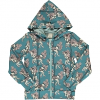 Maxomorra Merry-Go-Round Hooded Cardigan