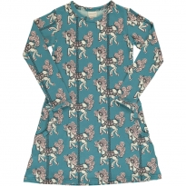 Maxomorra Merry-Go-Round LS Dress