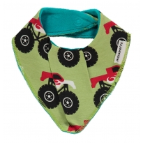 Maxomorra Monster Truck Dribble Bib