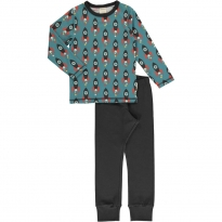 Maxomorra Moon Rocket LS Pyjamas