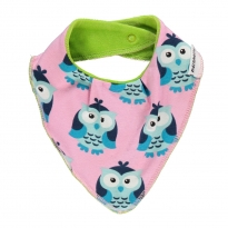 Maxomorra Owl Dribble Bib