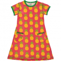 Maxomorra Pineapple SS Dress