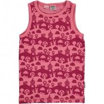 Maxomorra Pink Landscape Tank Top