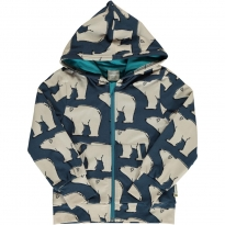 Maxomorra Polar Bear Hooded Cardigan