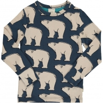 Maxomorra Polar Bear LS Top