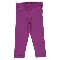Maxomorra Purple Cropped Leggings