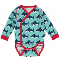 Maxomorra Shark LS Wrap Body