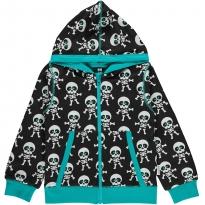 Maxomorra Skeleton Zip Hoody