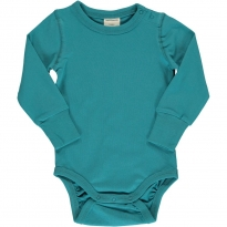 Maxomorra Solid Arctic Blue LS Body