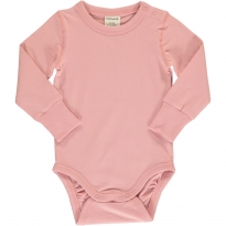 Maxomorra Solid Dusty Rose LS Body