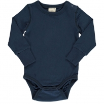 Maxomorra Solid Midnight LS Body