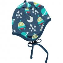 Maxomorra Spaceship Bonnet Hat