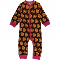 Maxomorra Squirrel Romper