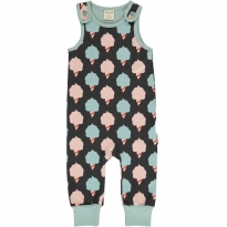 Maxomorra Sweet Cotton Candy Dungarees