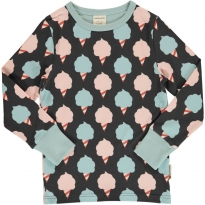 Maxomorra Sweet Cotton Candy LS Top