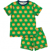 Maxomorra Tiger Shortie Pyjamas