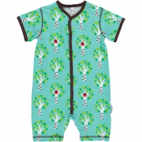 Maxomorra Tree Shortie Romper