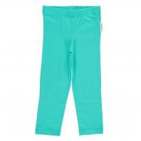 Maxomorra Turquoise Cropped Leggings