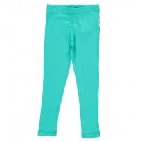 Maxomorra Turquoise Leggings
