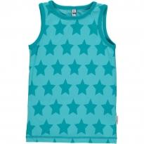 Maxomorra Turquoise Stars Vest