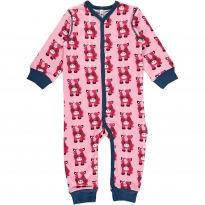 Maxomorra Unicorn LS Romper