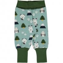 Maxomorra Winter World Rib Pants