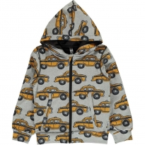 Maxomorra Taxi Hooded Cardigan