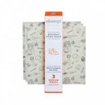 Abeego Medium Pack - 3 Medium Wraps