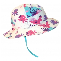 JNY Mermaid Cord Baby Sun Hat